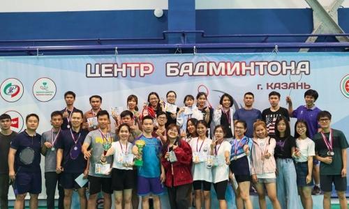 Bế mạc Giải Cầu lông Lưu học sinh thành phố Kazan mở rộng lần thứ III – 2021
