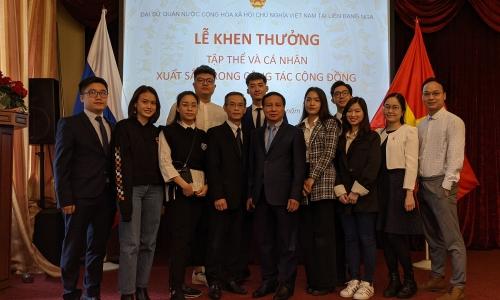 Đại sứ quán Việt Nam tại Nga chúc mừng lưu học sinh tốt nghiệp