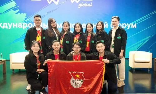 Đoàn Việt Nam tại Diễn đàn thanh niên quốc tế Á-Âu 2021