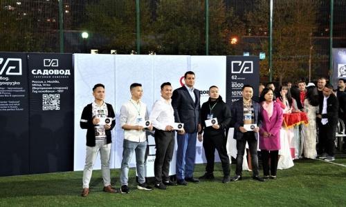 Giải bóng đá của người Việt Chợ Sadovod thành công tốt đẹp