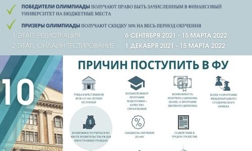 Olympic quốc tế của Đại học Tài chính trực thuộc chính phủ Nga