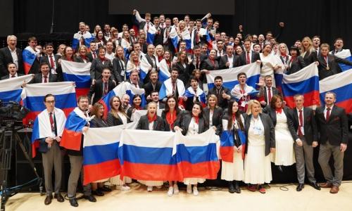 Đội tuyển Nga giành chức vô địch cuộc thi EuroSkills Graz 2021