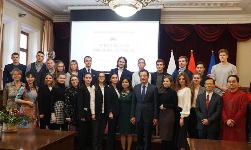 Giao lưu ngành Tiếng Việt và Việt Nam học tại Nga