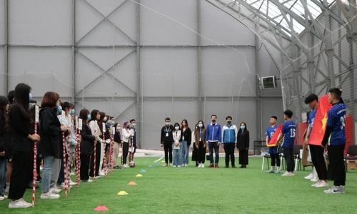 Khởi tranh Giải bóng đá mùa thu thường niên tại Đại học Tài chính